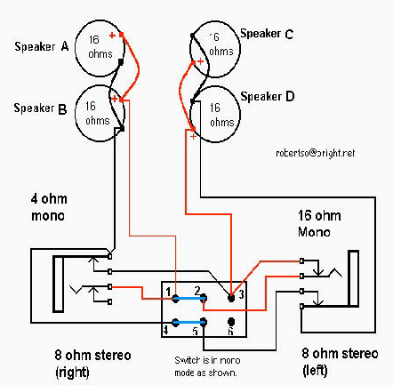 Four on wiring diagram for outdoor switch