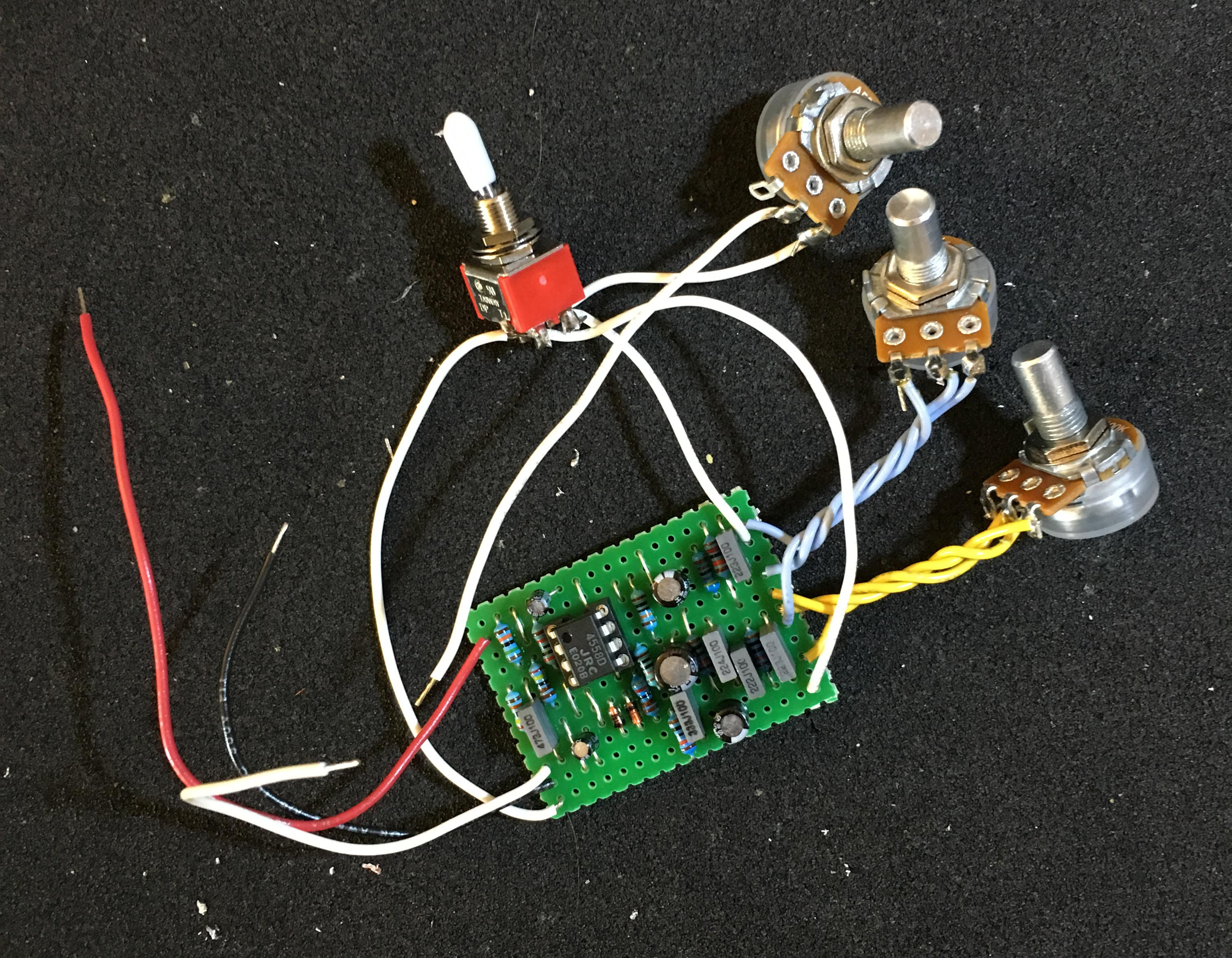 Build Your Own Dan Armstrong Blue Clipper Tone Report Doityourself How To Make A Circuit Board Guitar Pick Do It Failing This Wont Ruin The Pedal But Will Let Work In Eq Mode And Kill Sound Entirely Bypass