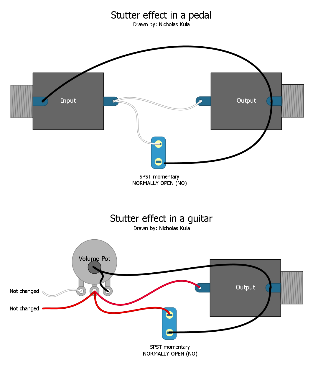 Killswitch Pedal Wiring Diagram Trusted Schematics Guitar Effects Breathe New Life Into Your Rig For 10 Or Less Tone Report Electrical