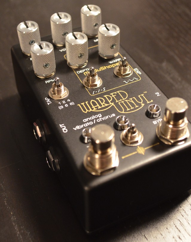 Chase Bliss Audio Warped Vinyl Tone Report